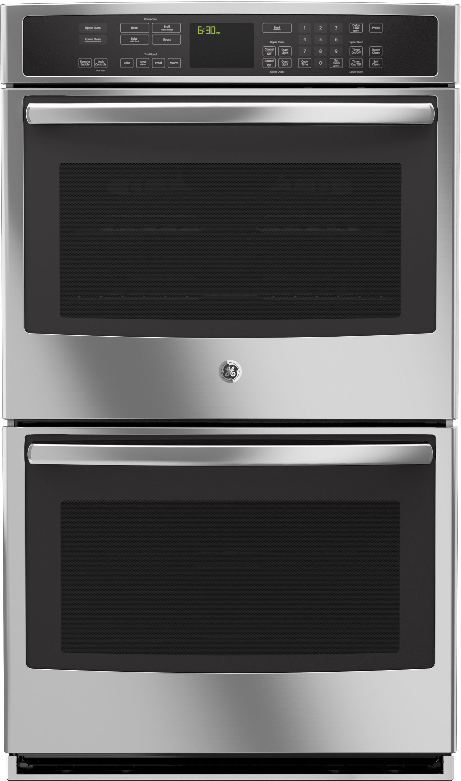Ge Pt9550sfss 30 Inch Double Electric Wall Oven With 5 0
