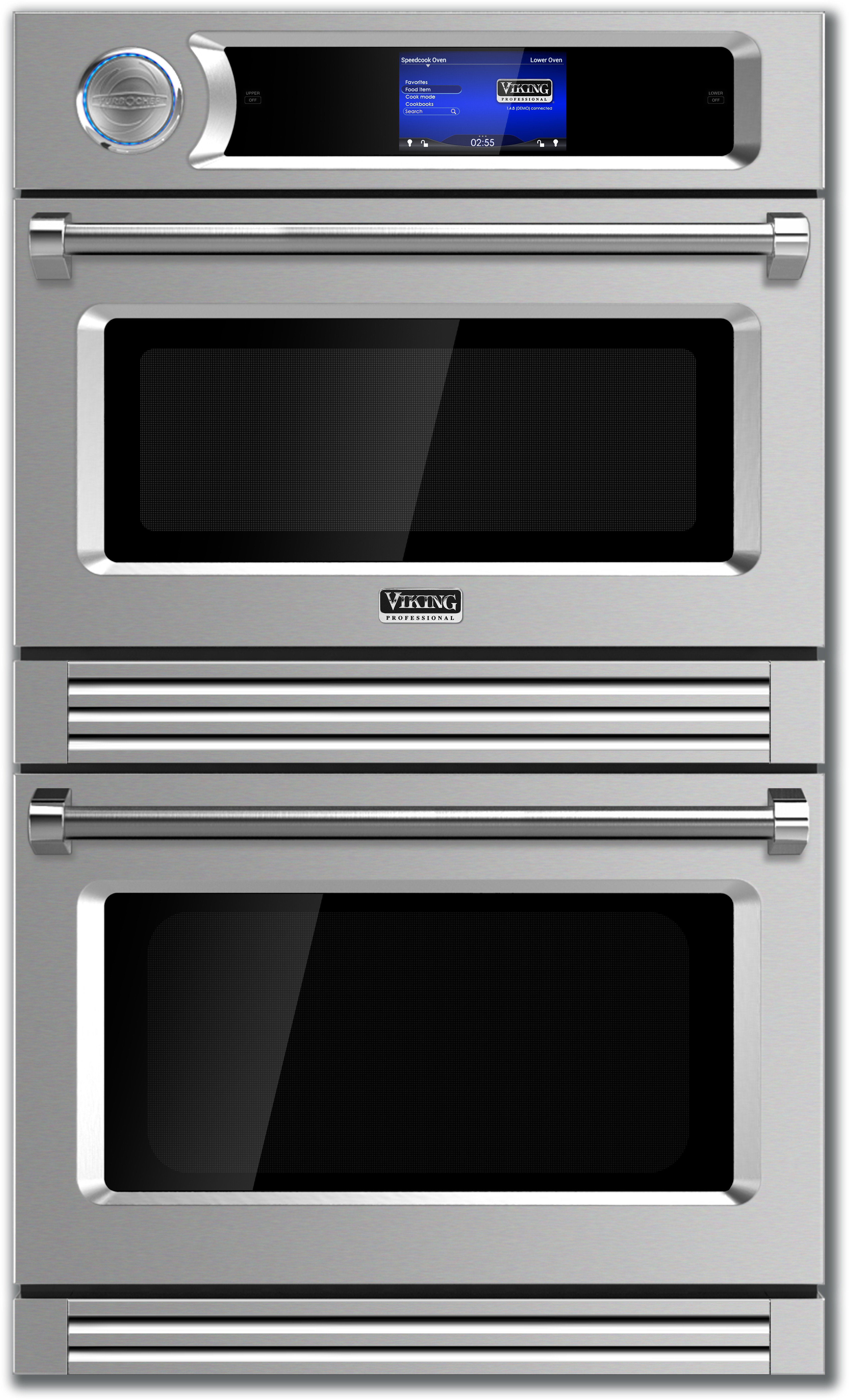 Viking Vdot730ss 30 Inch 240v Double Electric Wall Oven