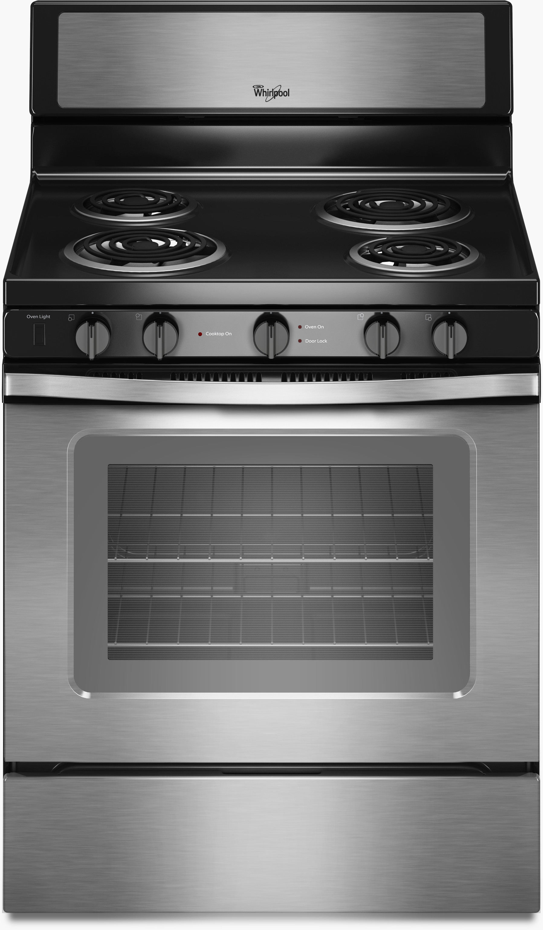 Whirlpool Wfc340s0es 30 Inch Freestanding Electric Range