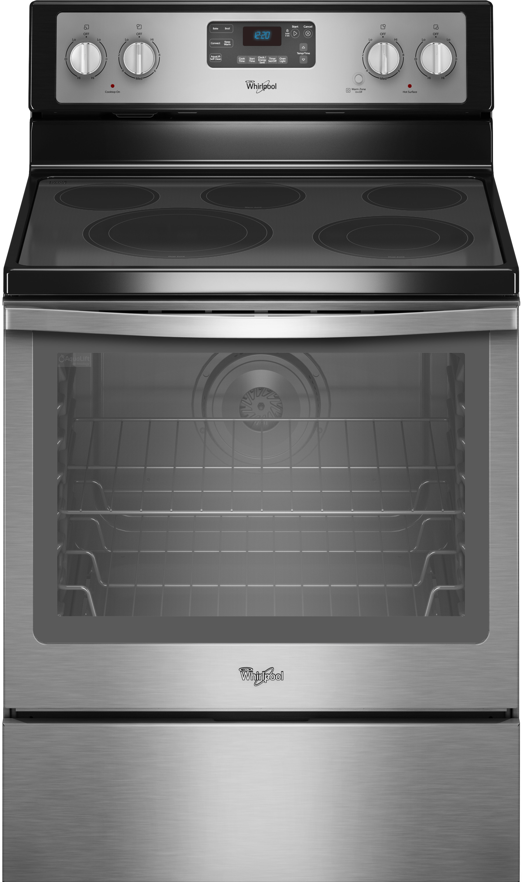 Whirlpool Wfe540h0es 30 Inch Freestanding Electric Range