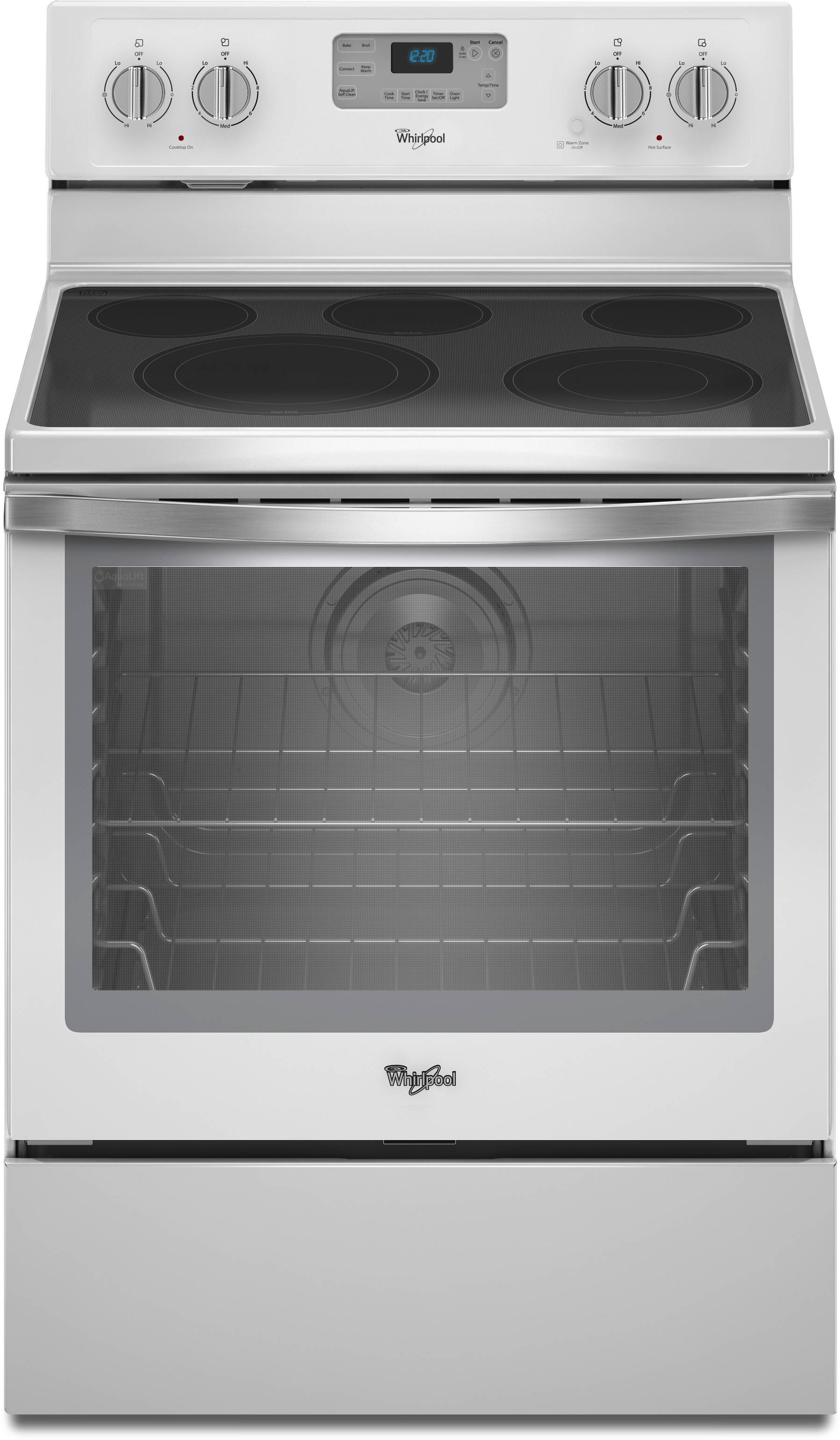 Countertop Ice Maker Menards : ... Zone, Max Capacity Recessed Rack and AquaLift Self Clean: White Ice