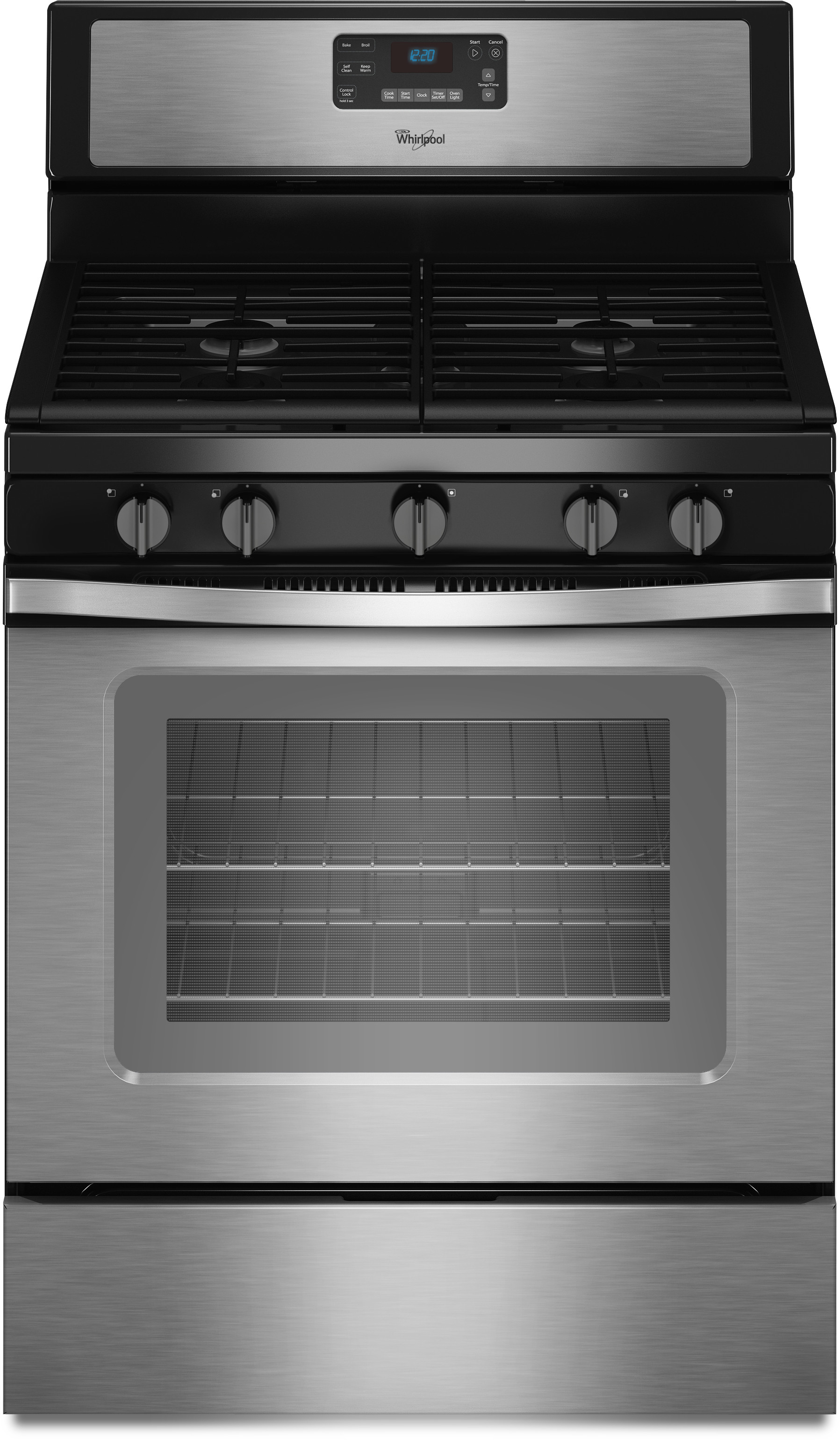 Whirlpool Wfg530s0es 30 Inch Freestanding Gas Range With 5