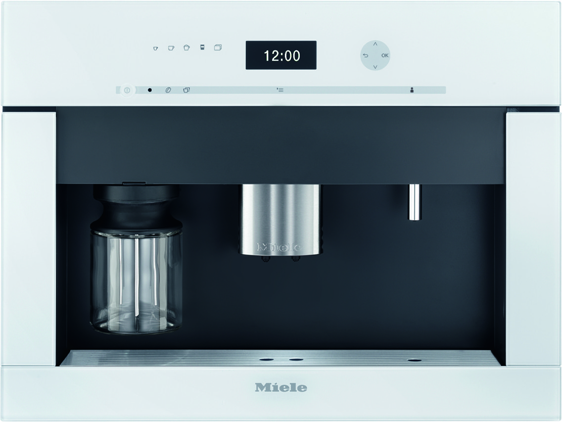 Countertop Ice Maker Plumbed : Miele CVA6401BRWS 24 Inch Built-In Non-Plumbed Coffee System with ...