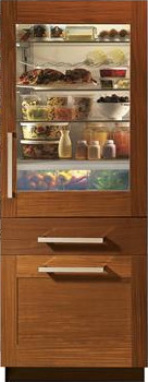 Monogram Zix30gnhii 30 Inch Built In Bottom Freezer